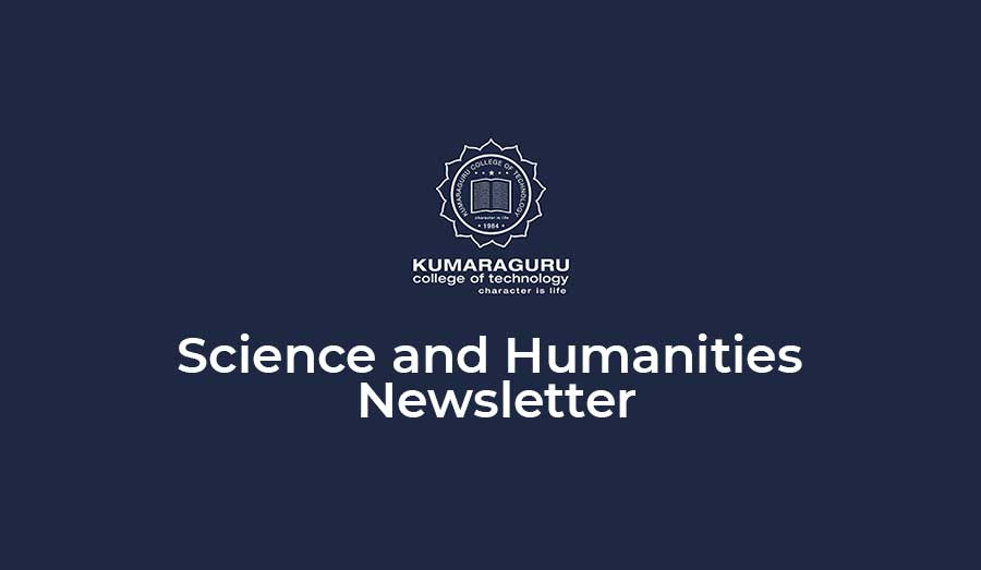 Science and Humanities Newsletter